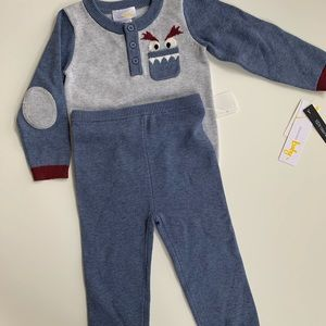 Brand new knit set for baby boy